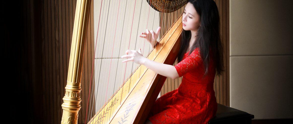 梁卓媛 Nicole Leong Harpist 豎琴家族 學豎琴 豎琴價錢 2